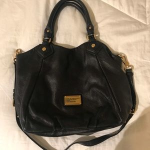 Marc by Marc Jacobs black leather bag, large